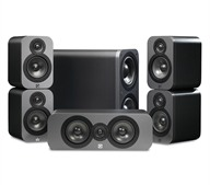 Q Acoustics 3000 5.1 cinema speaker system graphit