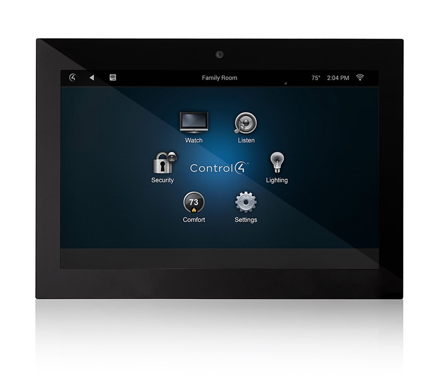 Control4 7 Inch In Wall Touch Screen Audio Concept