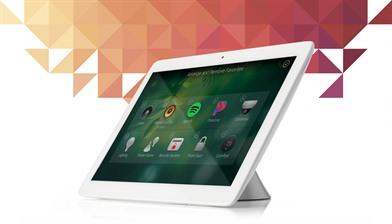 Control4 7 inch table top touch screen