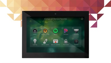 Control4 7 inch wall mount touch screen