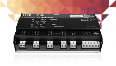 Control4 8 channel dimmer module