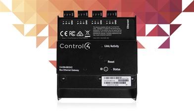 Control4 bus ethernet gateway