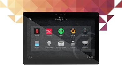 Control4 T4 8 Inch Wall Mount Touch Screen
