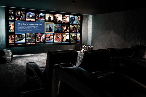 Pulse Cinemas showroom